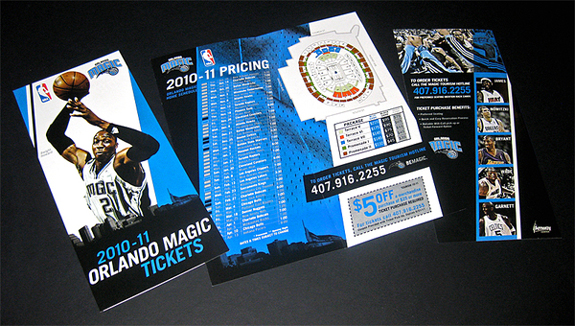 Orlando Magic Rack Cards
