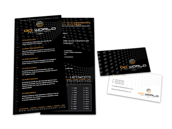 Go World - Rack Card Design