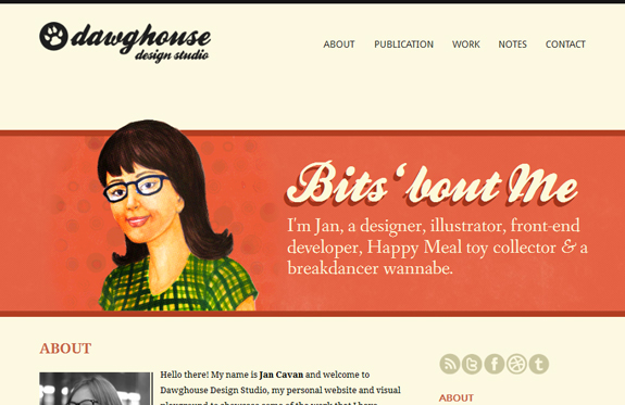 DawgHouse - About Page Design