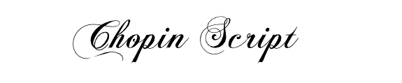 Cool Calligraphy Font