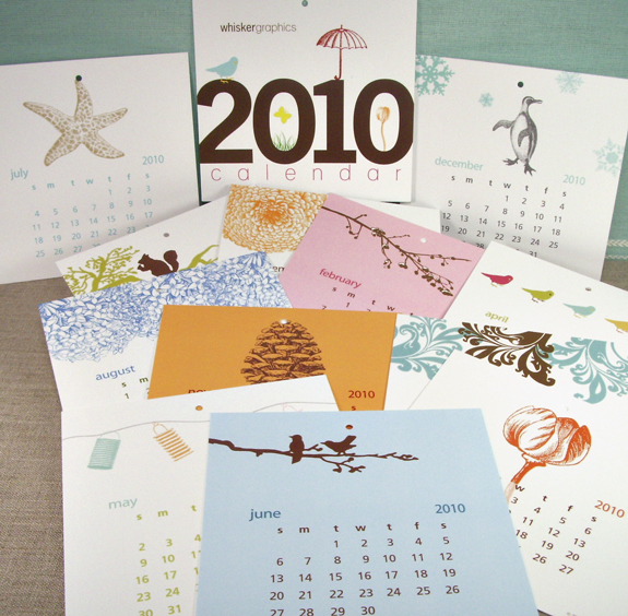 The Whisker Graphics 2010 Calendar