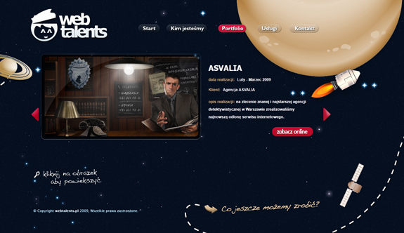 Web Talents - Portfolio Design