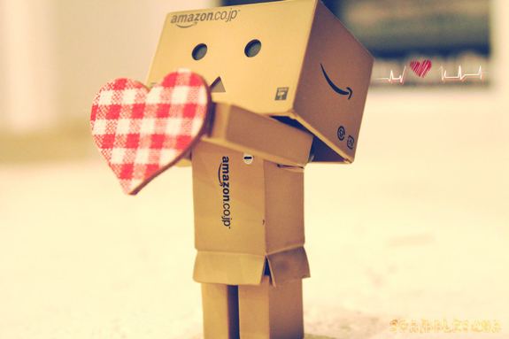 Danbo Gives You His Heart