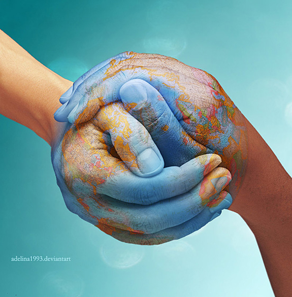 The World Is In Our Hands - Conceptual Idea