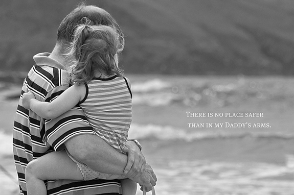 In My Daddy's Arms - Candid Shot