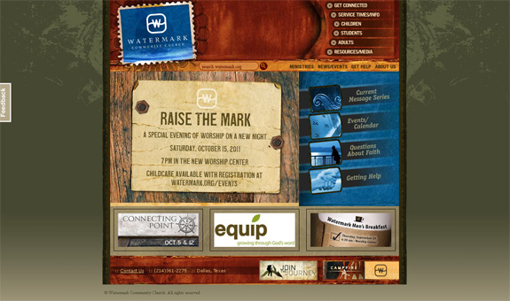 Watermark Community Church Website