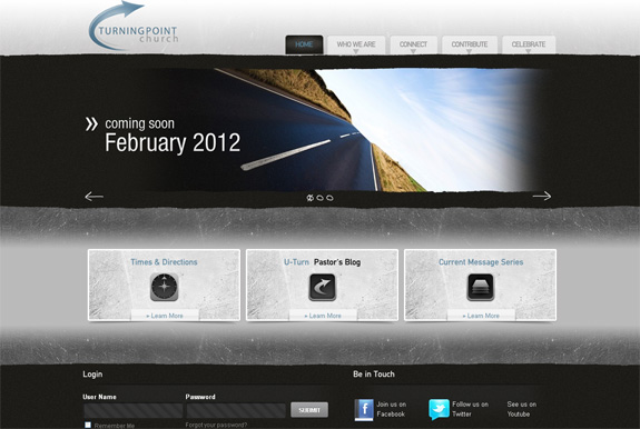 Turningpoint Church - Website Design