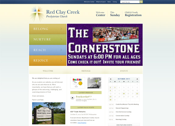 Red Clay Creek - Church Website