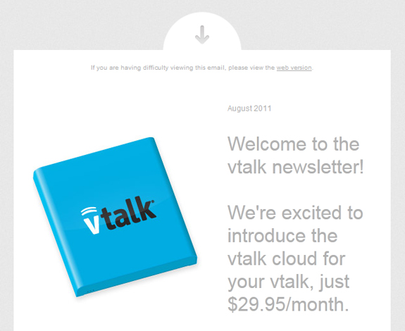 Clean Newsletter Design