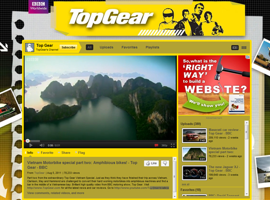 Top Gear - Youtube Background