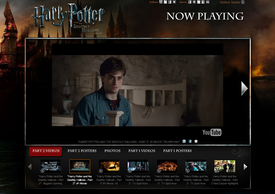 HARRY POTTER - Youtube Background