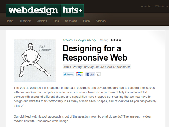 Responsive Web Design Examples Templates and Frameworks 15 Responsive Web Design Tools, Techniques, Templates and Frameworks