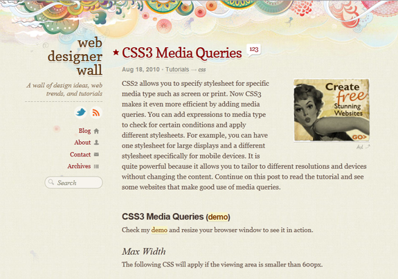 Responsive Web Design Examples Templates and Frameworks 17 Responsive Web Design Tools, Techniques, Templates and Frameworks