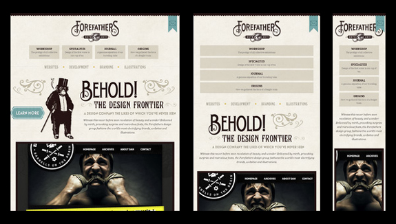 Forefathers Group - Responsive Web Inspiration