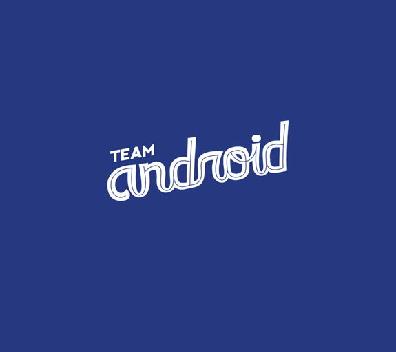 Typographic Android Wallpaper