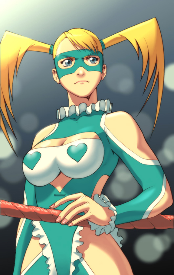 Rainbow Mika - Street Fighter Character