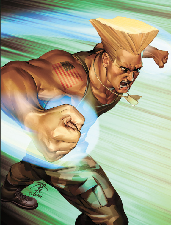Guile - Street Fighter Character