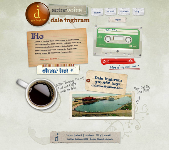 Vintage and Retro Website Design