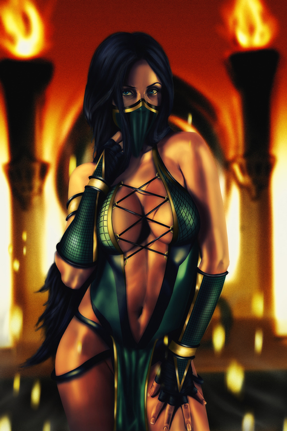 Digital Illustration of Mortal Kombat Characters   The Design WorkMortal Kombat Characters
