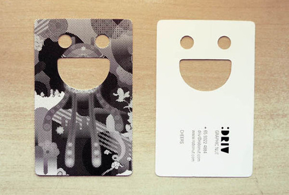Die Cut Card Designs