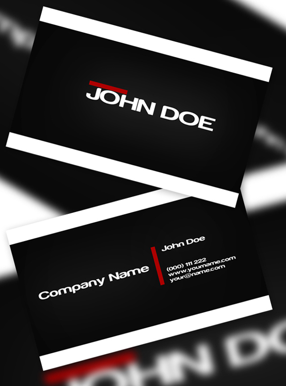 Blackish Business Card