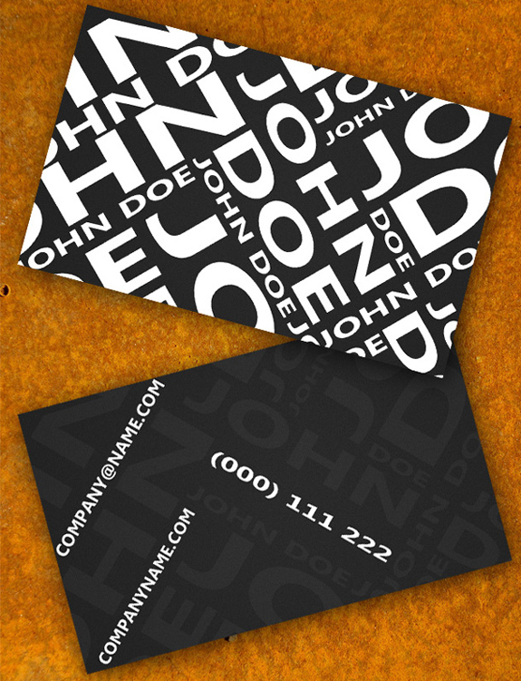 Free Business Card Template 08 59 Useful Business Card Templates