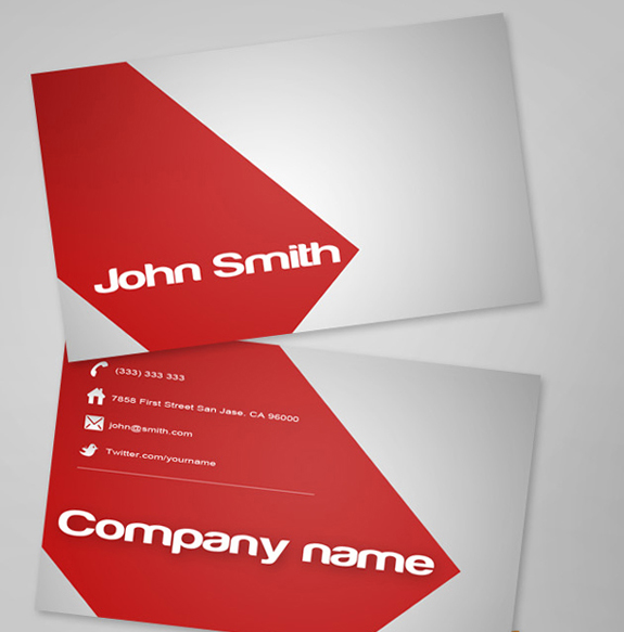 Free Business Card Template 09 59 Useful Business Card Templates