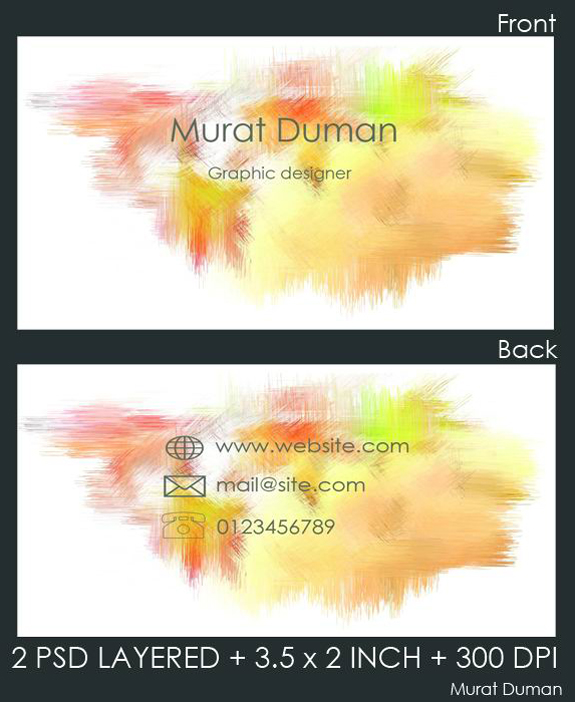 Free Business Card Template 20 59 Useful Business Card Templates