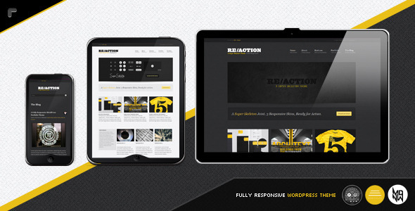 Reaction WP - Responsive WordPress Portfolio Themes