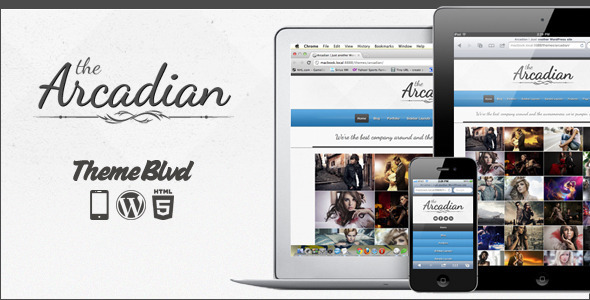 The Arcadian - Responsive WordPress Portfolio Theme