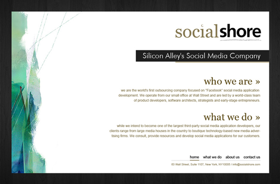 Social Website Template