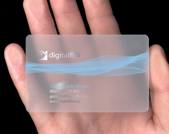 clear plastic business cards design 15 25 Clear Plastic Business Cards Design