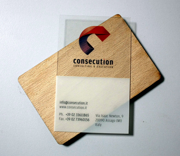 Plastic Business Card Design