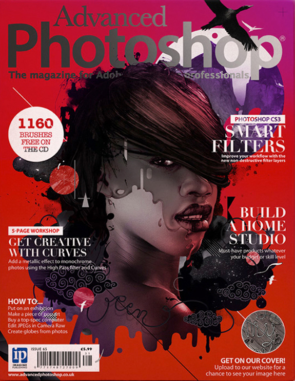 Adobe Photoshop Magazine Cover Design