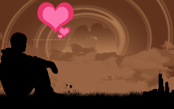 Lovely and Romantic Valentine Wallpaper