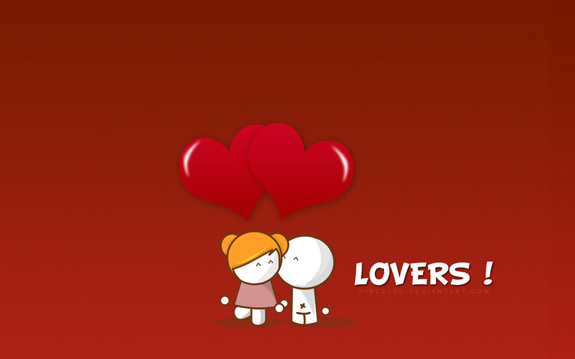 Lovers Wallpaper
