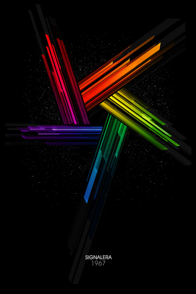 Abstract iPhone Wallpaper