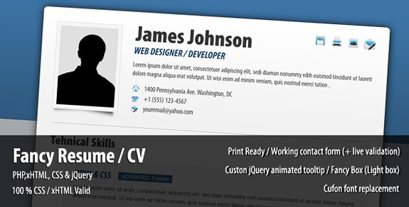 40  premium and free resume templates  u2013 the design work