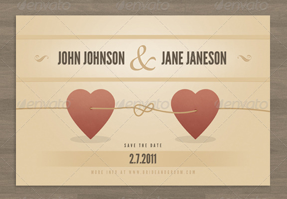15+ Premium and Free Wedding Invitation Templates | The Design Work