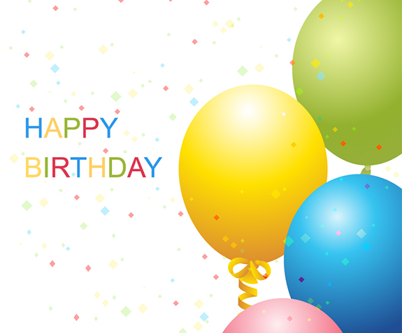 Vector Birthday Template