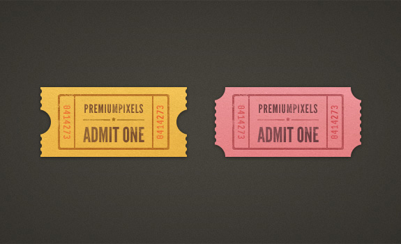 ticket template 01 Beautiful Collection of Ticket Template