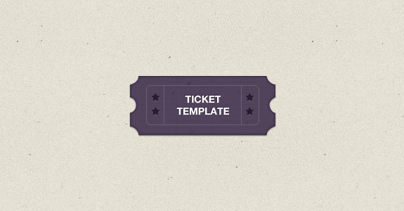 ticket template Beautiful Collection of Ticket Template