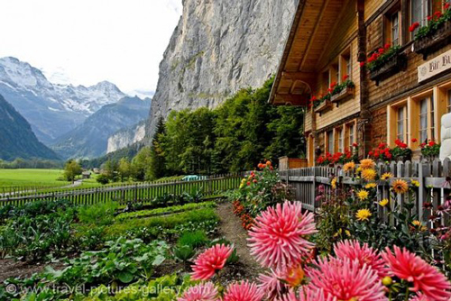 Famous Places - Alps of Switzerland