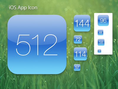 iphone app logo template - 15 ios app icon templates the design work
