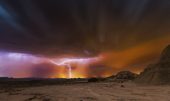 Storm Bardenas - Lightning Photography