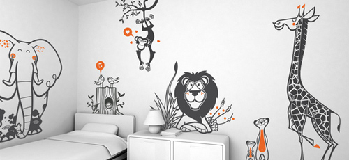Lovely Uma - Wall Stickers