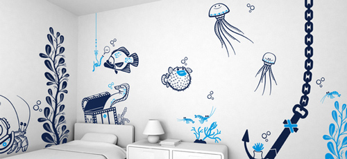 Fishing Wall Stickers