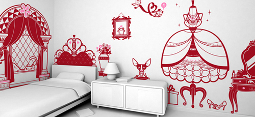 Princess Room - Wall Stickers
