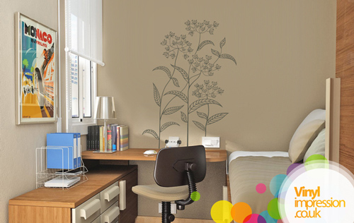 Abstract Plant - Wall Stickers