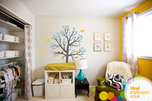 Nesting Tree - Wall Stickers
